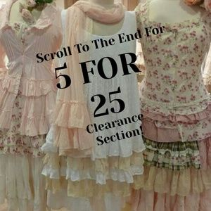 Other - Keep scrolling for 5 for 25 Clearance Section!
